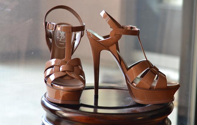 4cdb15bab6d YSL Patent Tribute Sandals