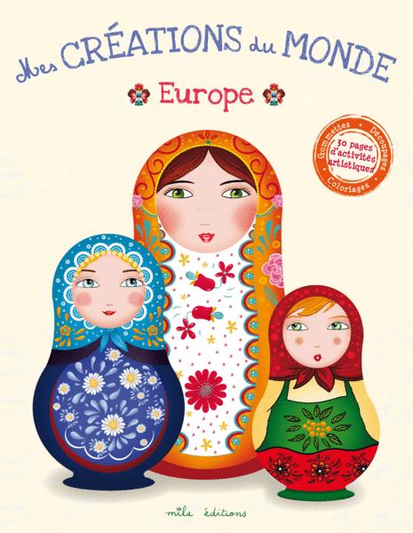 Mes créations du monde : Europe couverture