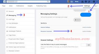 Cara membalas pesan fb otomatis
