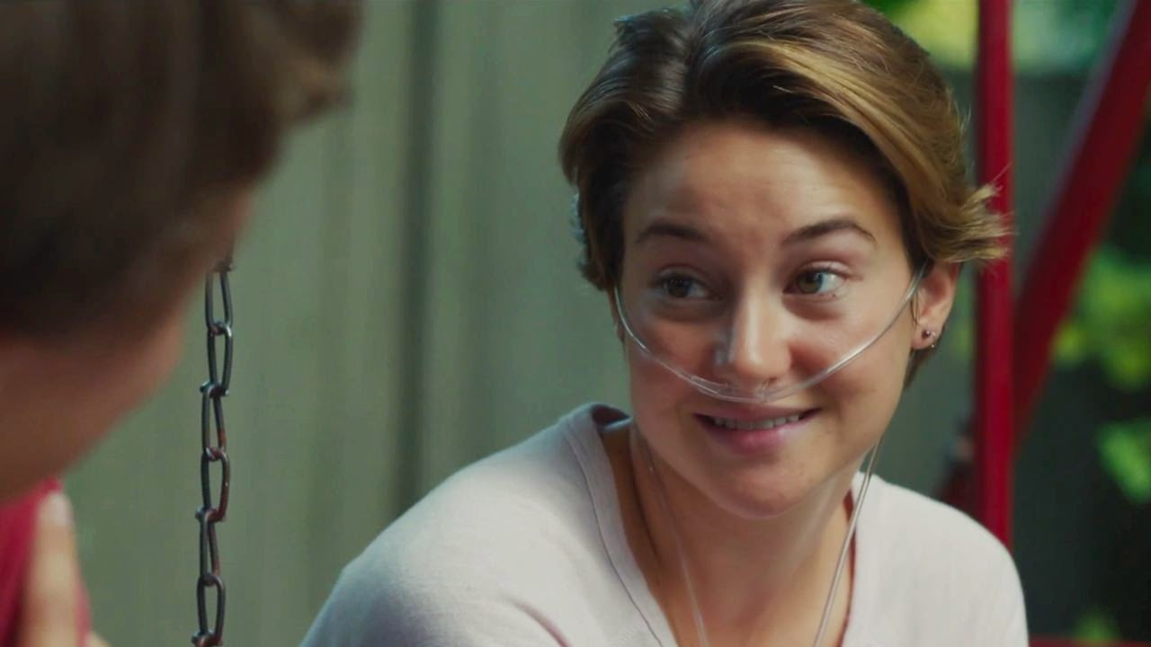 the fault in our stars ansel elgort shailene woodley