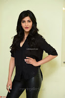 Shruti Haasan Looks Stunning trendy cool in Black relaxed Shirt and Tight Leather Pants ~ .com Exclusive Pics 016.jpg