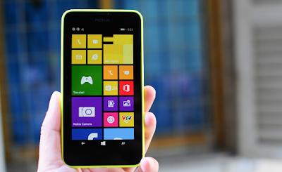 Thay mặt kính Lumia 630 chính hãng