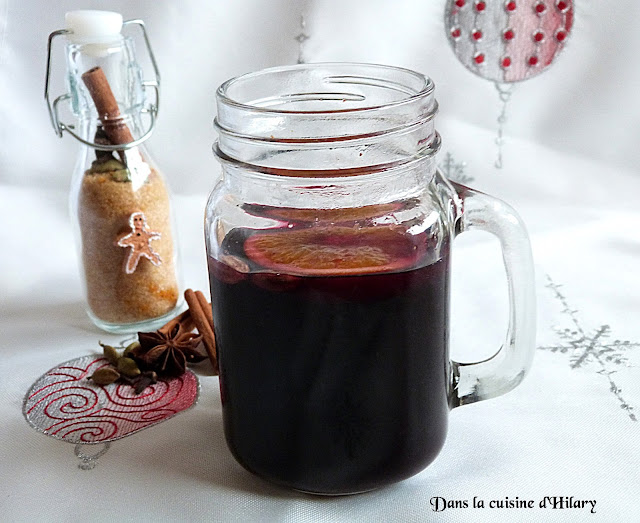 Vin chaud / Hot spiced wine