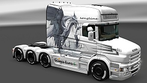 White Dragon skin for Scania T Longline