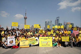 Umum PRU14 awal, senang nak balik mengundi, kata Bersih Shanghai