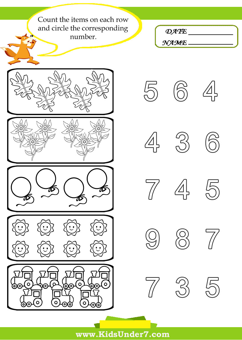 Counting Activities For Preschool 20 Counting Activities F