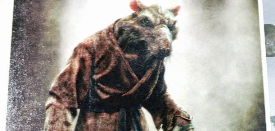 Artes conceituais de As Tartarugas Ninja revelam visual de Splinter e Destruidor