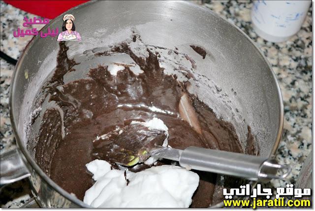 كيكة لينة بالشوكولا سهلة ولذيذة