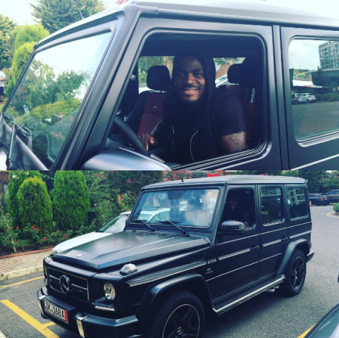 Emmanuel Emenike sharef his brand new G-Wagon on instagram