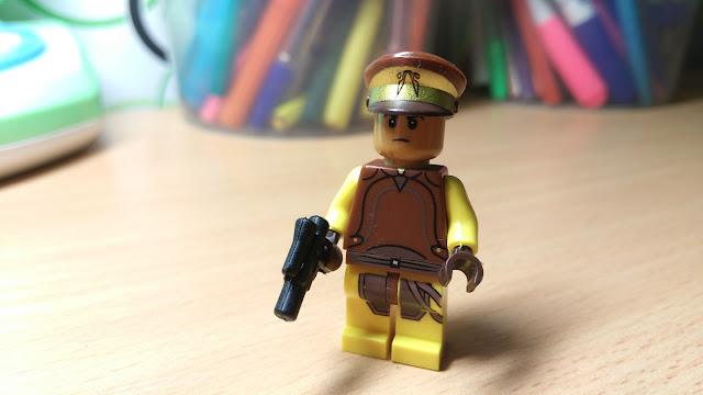 Офицер службы безопасности Набу, фигурка лего, Star Wars, Звездные войны, купить