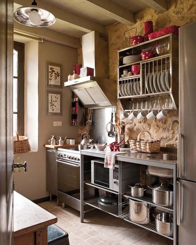 C mo decorar una cocina peque a cocinas con estilo - Disenar tu cocina ...