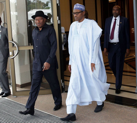 buhari jonathan meeting