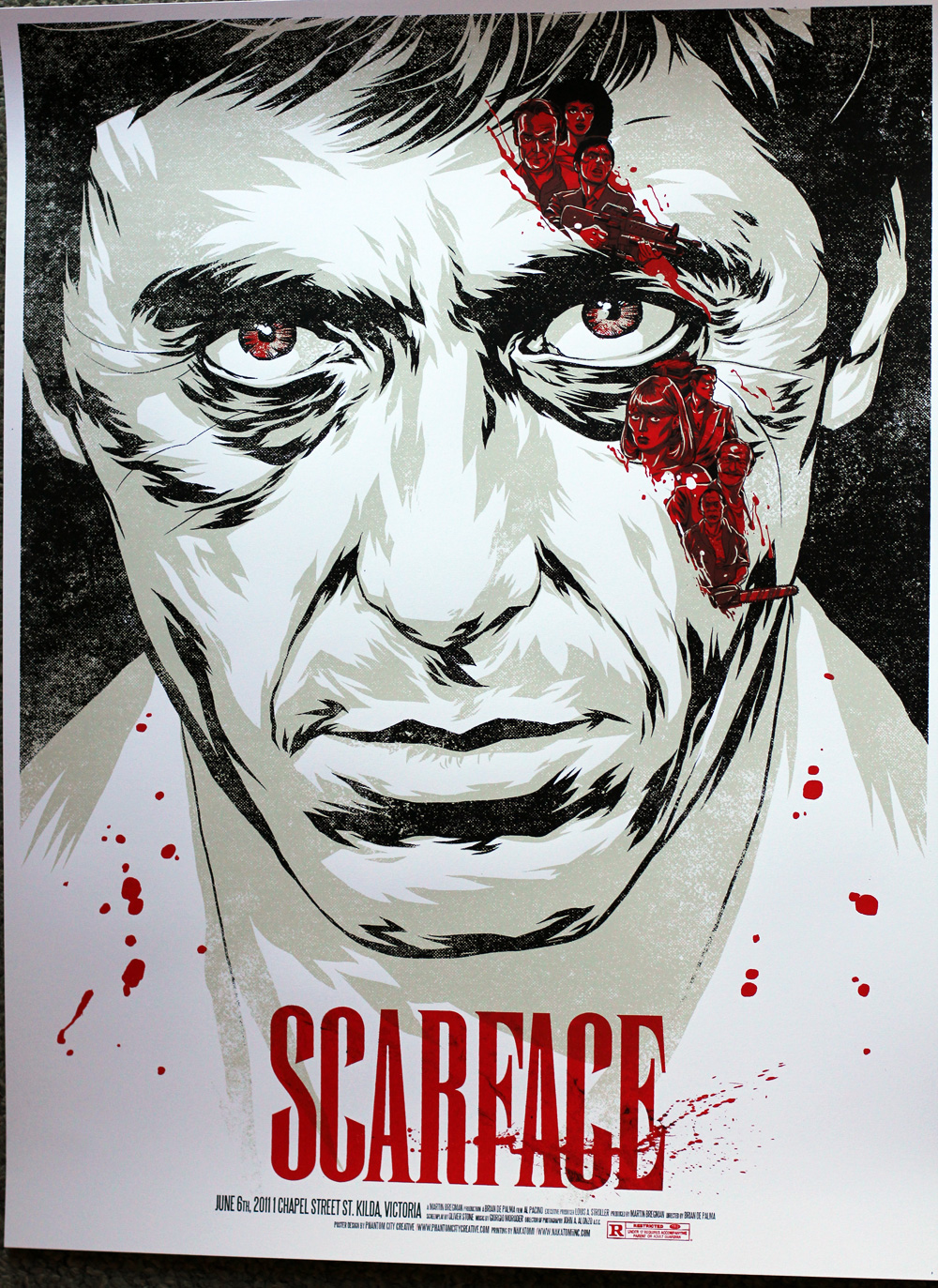 INSIDE THE ROCK POSTER FRAME BLOG: On Sale details for the Scarface ...