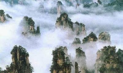 Impresionantes fotos de la provincia de Hunan en China.