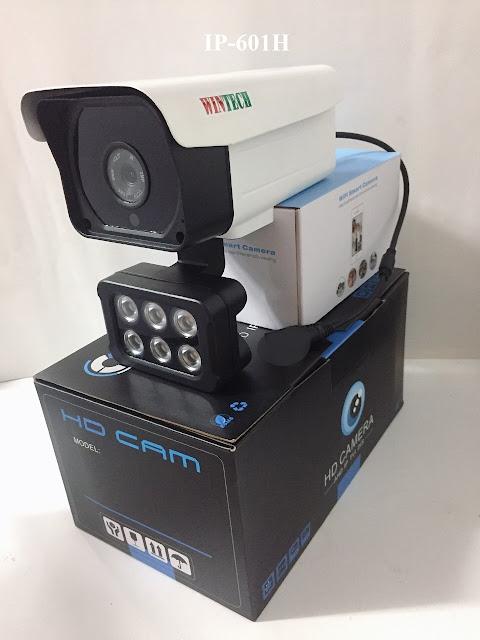 Camera IP WinTech IP-601H Độ phân giải 2.0 MP