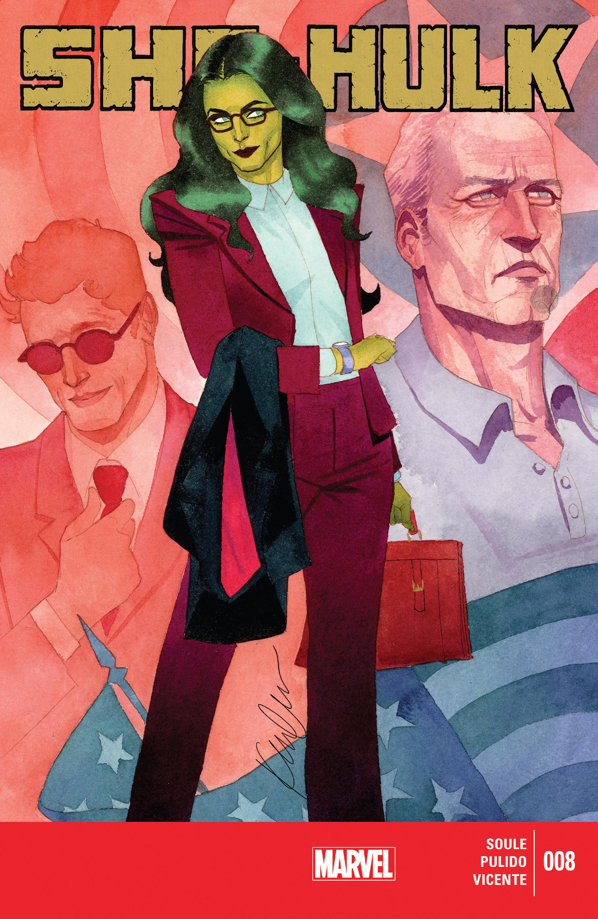 Read online She-Hulk (2014) comic -  Issue #8 - 1