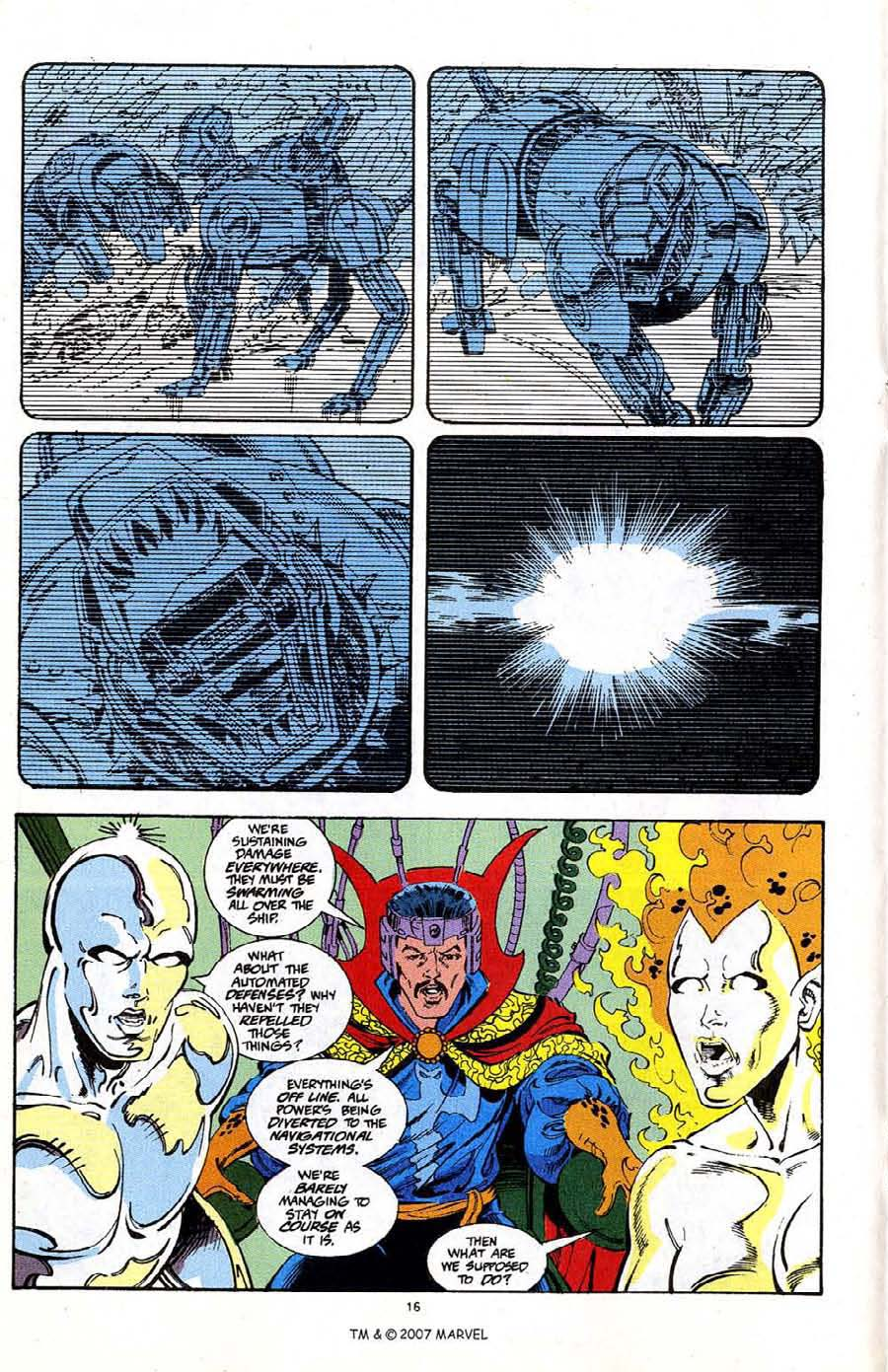 Read online Silver Surfer (1987) comic -  Issue #68 - 18