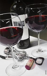 bodegones-con-copas-de-cristal-y-botellas-de-vino-cuadro-al-oleo