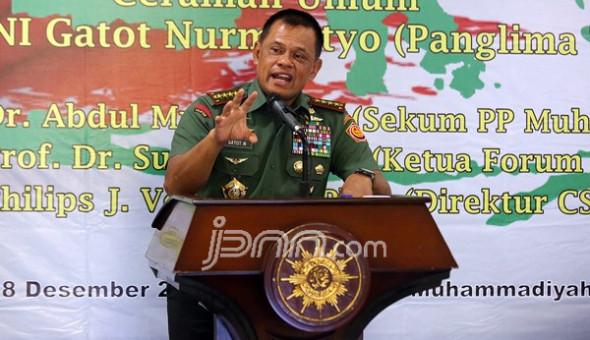 Panglima TNI Sampaikan Pernyataan Keras Kepada Pihak yang Memfitnah Jokowi Pro TKA China & P