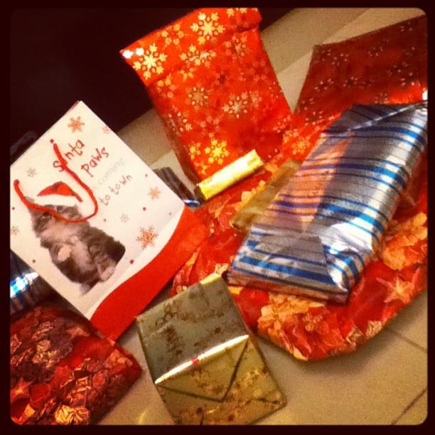 Yaay! Santa Arrived!