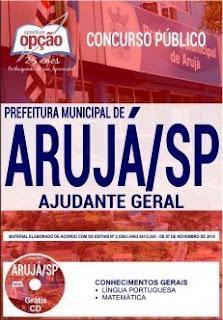 Download Apostila Prefeitura Municipal de Arujá 2019 PDF