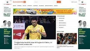 Bloggingpro: Tema Blog Berita dengan Desain yang Bersih dan Indah
