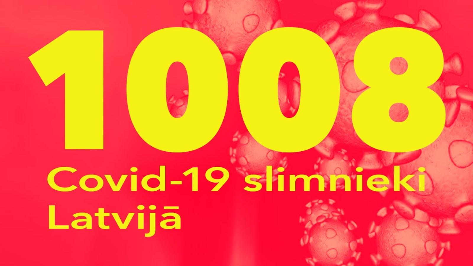 Koronavīrusa saslimušo skaits Latvijā 17.05.2020.