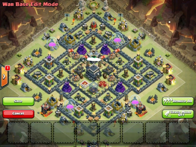 Base War Th 9 Paling Susah Ditembus 2019 8