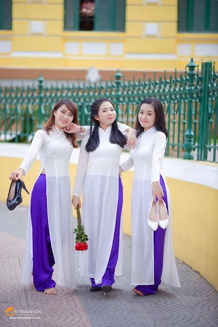 Thuê áo dài ở TPHCM