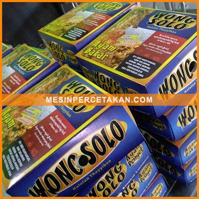 Kemasan Makanan | Nasi box ayam bakar Wong Solo