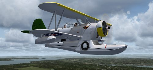 Flight Simulator News Brief: Swingman Freeware Grumman J2F Duck FSX