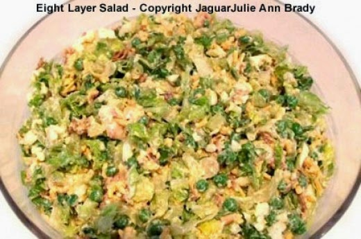 Eight Layer Salad is All Mixed Up