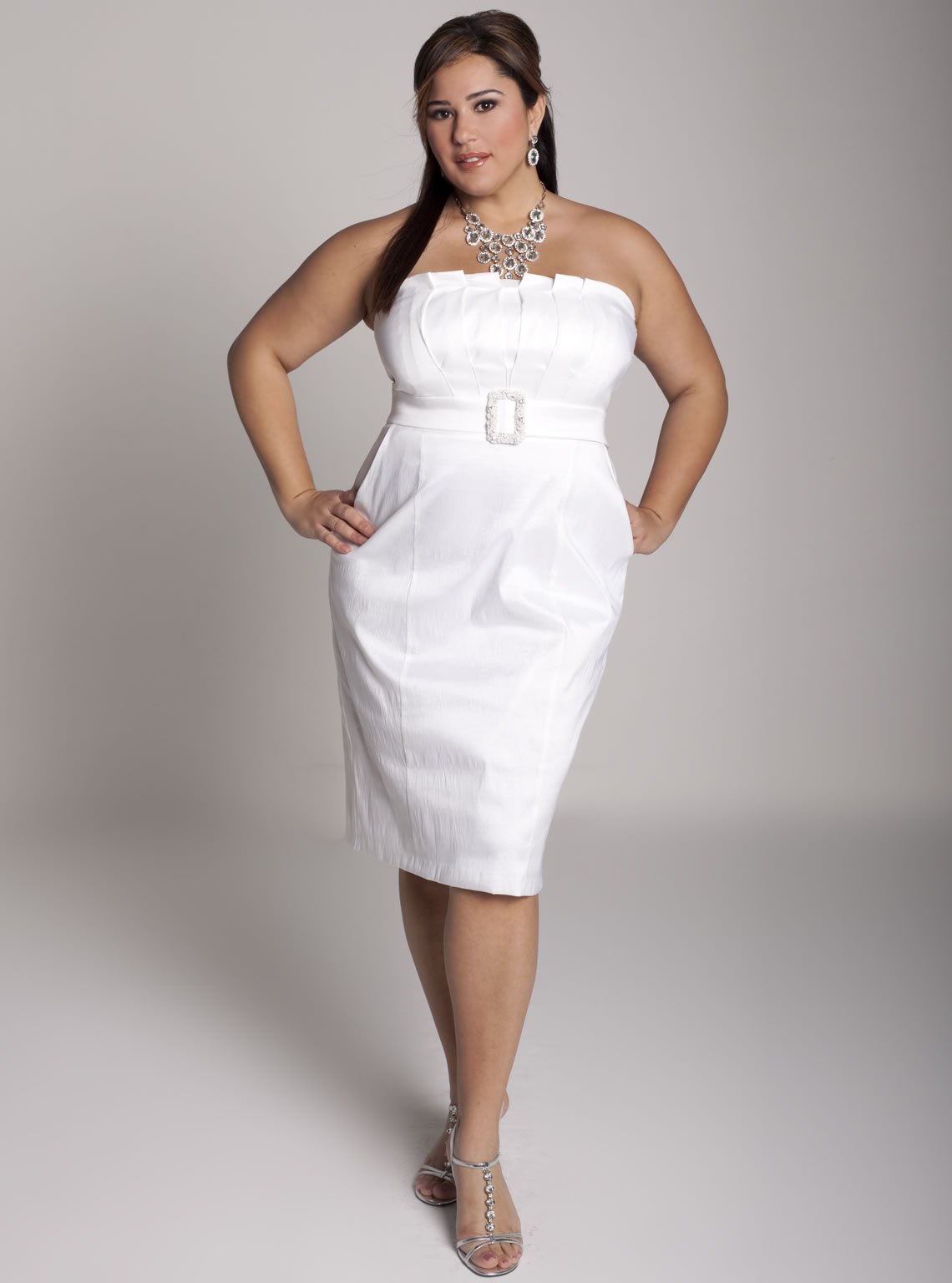 Plus Size Wedding Dresses For Older Brides Second Weddings | Saddha