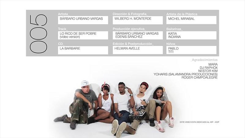 Bárbaro El Urbano Vargas - ¨Lo rico de ser pobre¨ - Videoclip - Dirección: Wilberg H. Monterde. Portal Del Vídeo Clip Cubano