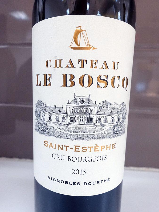 Château Le Boscq 2015 (92 pts)