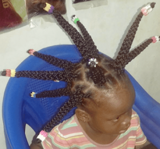 What the heck kind of hair is this on a 4 year old child? (photos)