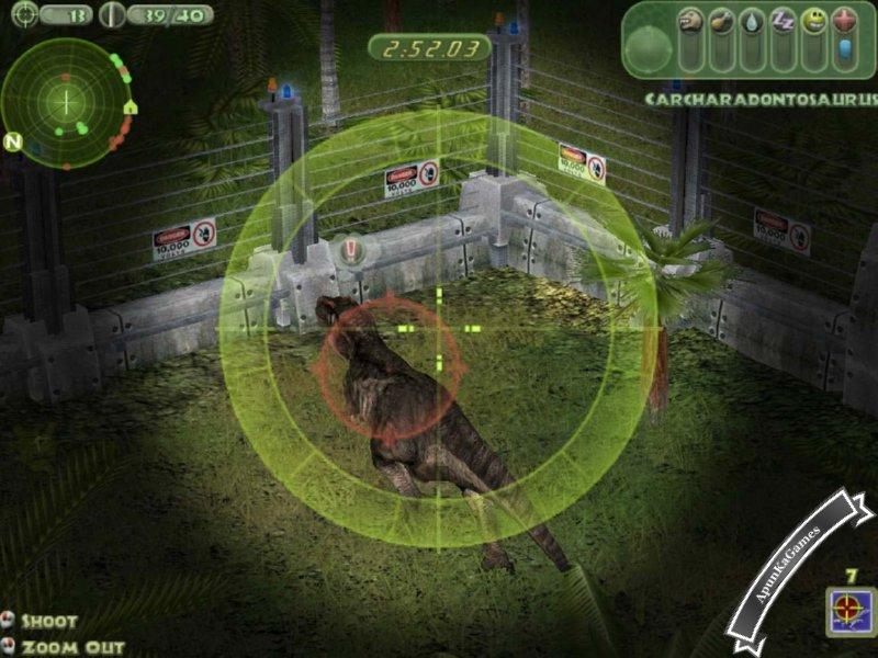 play jurassic park games free download