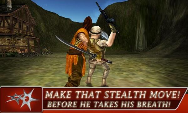 Game Android Ninja Warrior Assassin 3D Apk ~ GETPCGAMESET