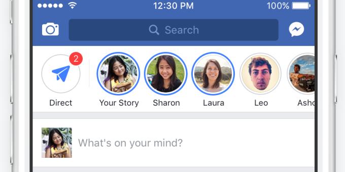 Facebook Luncurkan Facebook Stories Seperti Instagram Story dan Siap Menyerbu Desktop