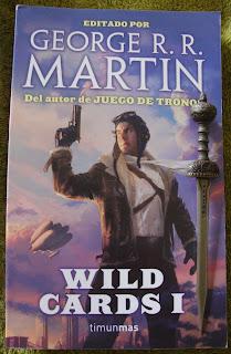 Portada del libro Wild Cards I, de varios autores