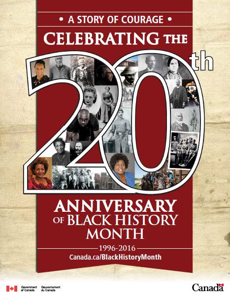 NAMC montessori black history month canada poster