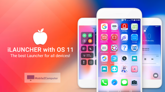 iLauncher OS 12 - Best iPhone Launcher for Android