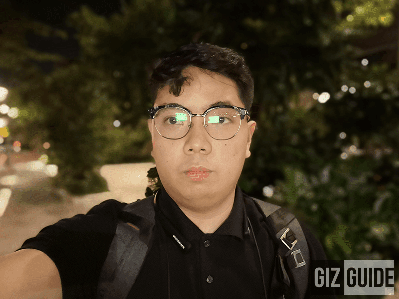 Night selfie