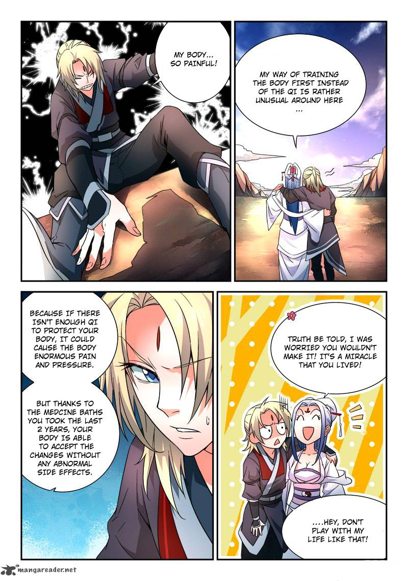 Spirit Blade Mountain - Chapter 37