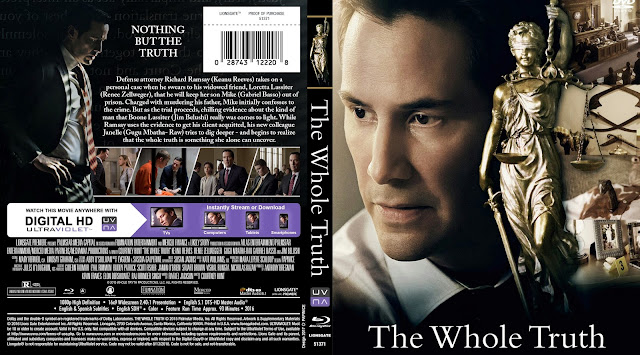 The Whole Truth Bluray Cover