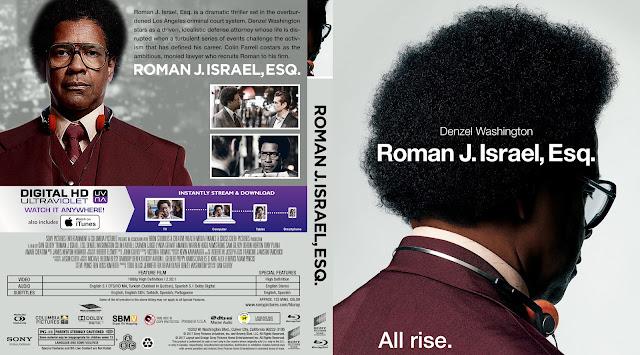 Roman J. Israel, Esq. Bluray Cover