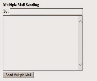 sending Multiple emails in asp.net