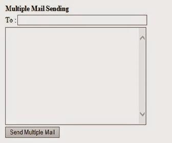 sending Multiple emails in asp.net