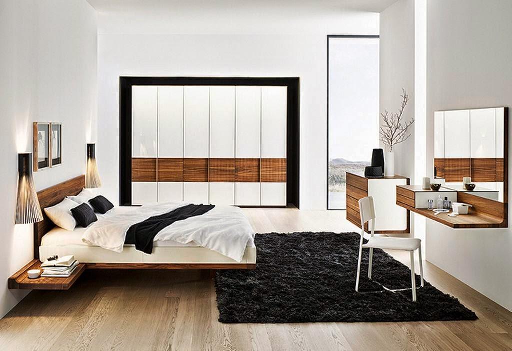 quartos modernos com closet  Decorao criativas para fazer