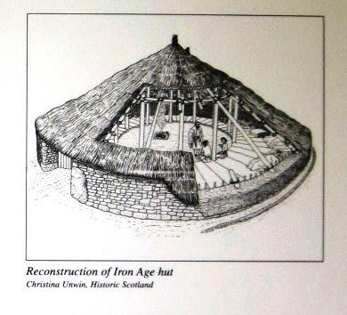 iron-age stone circle hut